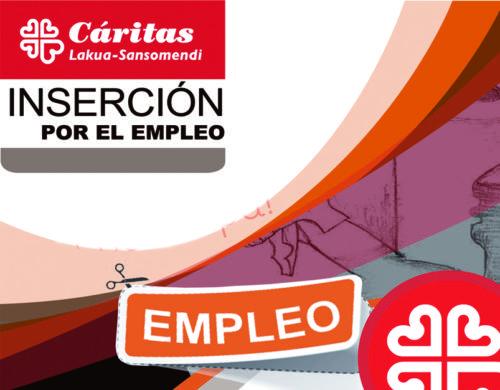 """Encuentro de zona Cáritas Lakua-Sansomendi. """"Inserción por el empleo: Presentación de programas y servicios""""."""